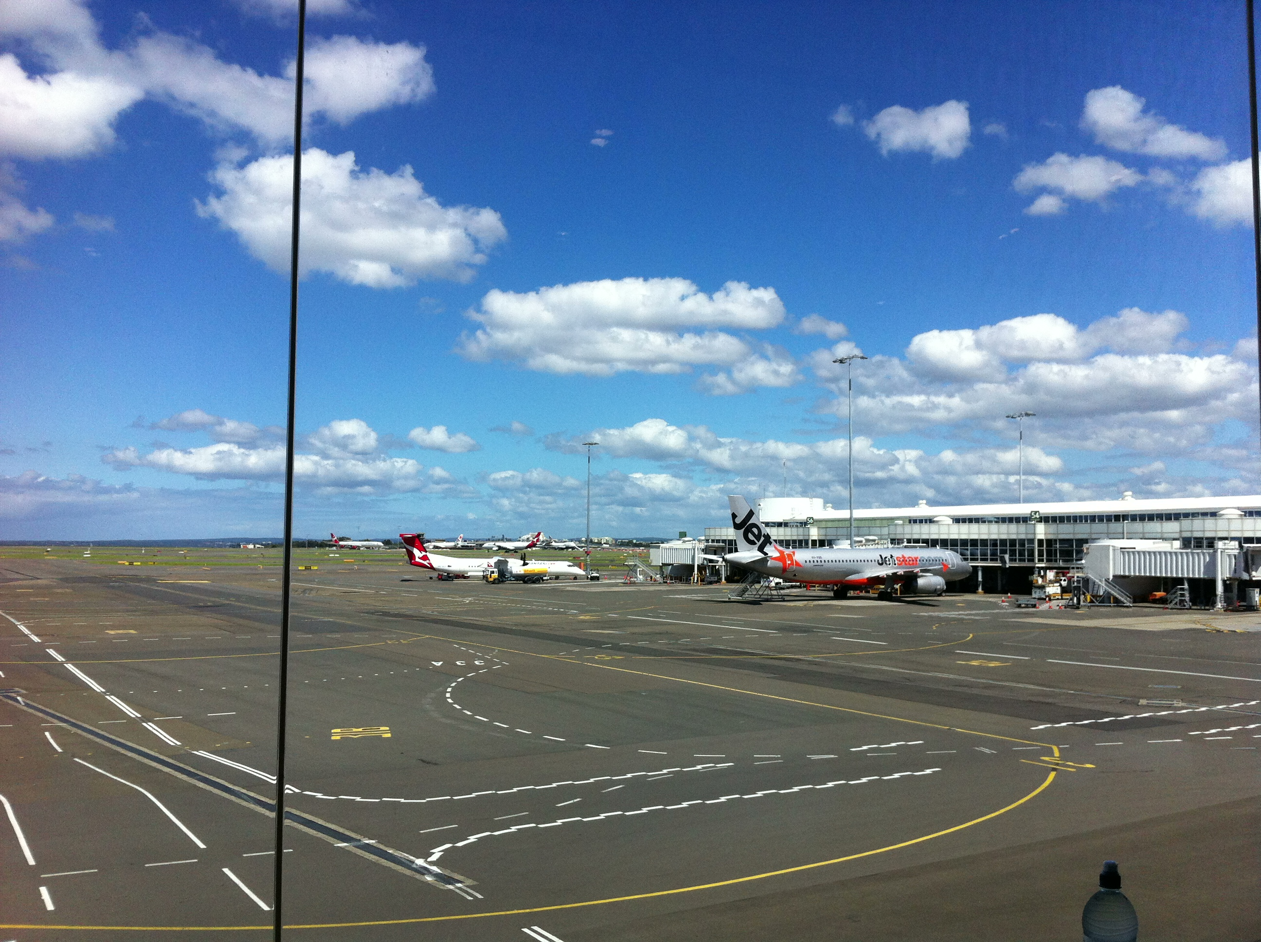 Sydney Domestic Airport Today
