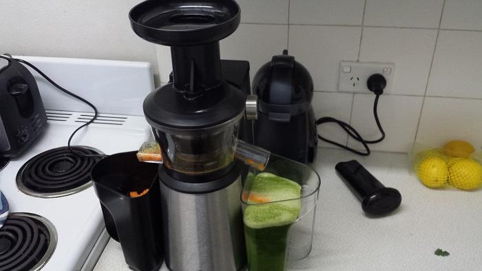 masticating slow cold press juicer
